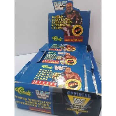 WWF WWE Wrestling Classic Series 1 Trading Cards -Single Packet-