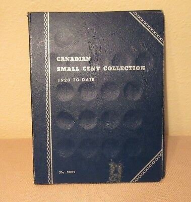 Canadian Small Cent Collection 1932 - 1964`s, Partial Set (27) In Folder