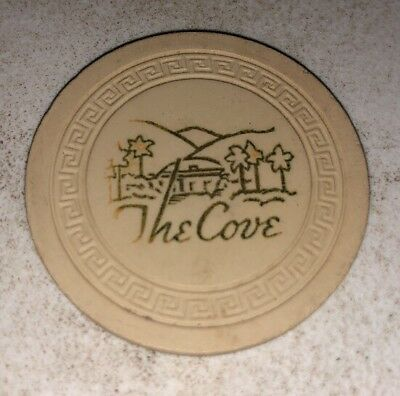The Cove $1 Casino Chip Palm Springs California 2.99 Shipping