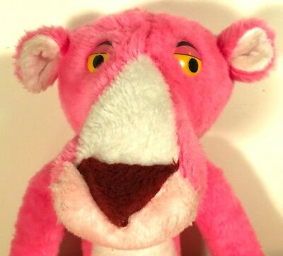 Vintage 1994 Pink Panther Plush Doll by Tabortoy of Italy - Huge 33 inches Tall