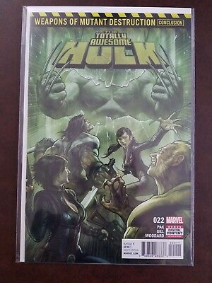 Totally Awesome Hulk 22 - 1st Print - Weapon H - WMD - Wolverine - Weapon X