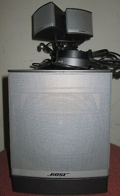 Bose Companion 3 series II Multimedia Speaker System Graphite FREE SIPPING