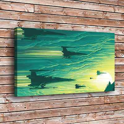 """12""""x22"""" Star X Wing Painting HD Print on Canvas Home Decor Room Wall Art Picture"""