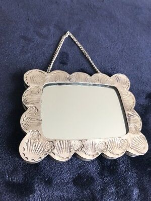 Sterling Silver Mirror .925 Thick with Chain