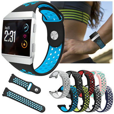 For Fitbit Ionic Sport Smart Watch Band Silicone Strap Soft Replacement Bracelet