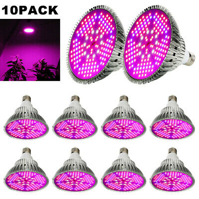 Full Spectrum 100W E27 LED Grow Light Red Blue Lampe Panel Pflanze Blumen Gemüse