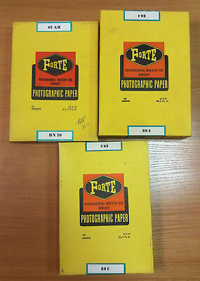 Hungary photo paper Forte Bromofort BN0 13x18cm B/W - 100 Sheets pack