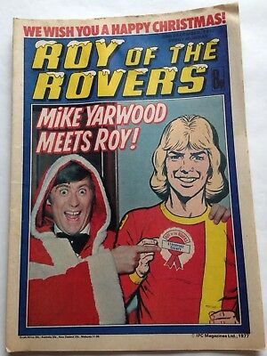 Roy of the Rovers comic, Christmas Eve, 1977,  Mike Yarwood picture special