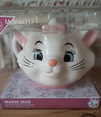 Primark Licensed Disney Large Marie Cat Aristocats Mug. New
