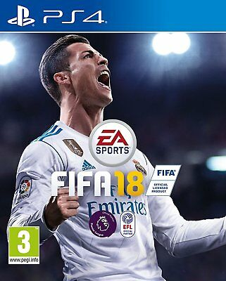 Fifa 18 PS4 Playstation 4 Jeu de Football EA Sports Neuf et Emballé ( Gb Pal )