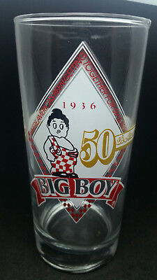 Bob's Big Boy 1936-1986 50th Anniversary Collectors Glass