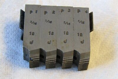 9/16 D 5/16-18 GEOMETRIC CHASERS FOR 9/16 Die Head