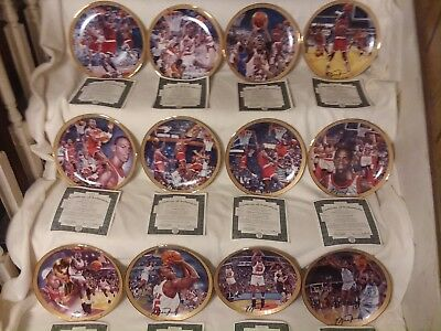 Michael Jordan Collection from the Upper Deck Company  (12 Plates)