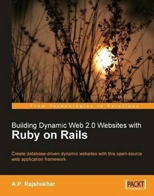 Building Dynamic Web 2.0 Websites with Ruby on Rails  PDF Read on PC/SmartPhone/