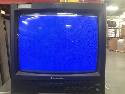 "Panasonic BT-H1390YN Color Video Monitor gaming tv vintage retro 13"" 13 inch"