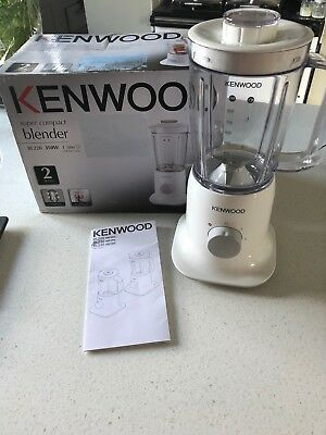 Kenwood Super Compact Blender, in white, 1L capacity, 350W, BL220 model