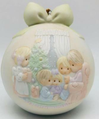 May Your Christmas Be A Happy Home Precious Moments 523704 With Box 1990