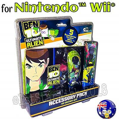 BEN 10 ULTIMATE ALIEN 5 in 1 Accessory Pack for NINTENDO Wii®