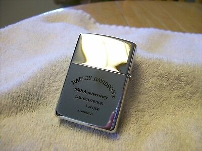 Limited Edition Harley Daivdson Zippo Lighter 95th Anniversary Mint!