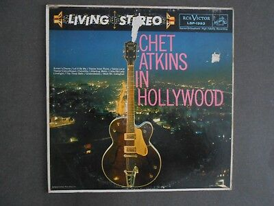 Chet Atkins: In Hollywood USA 1st press Living Stereo