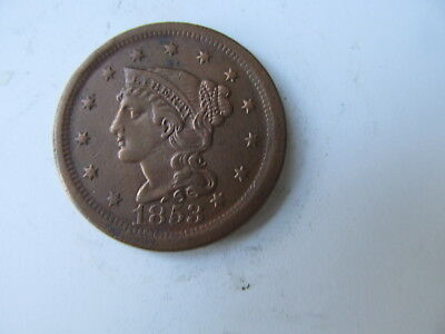 United States   Braided Hair Large Cent