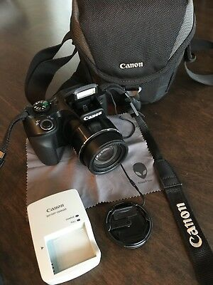 Canon PowerShot SX530 HS 16.0MP Digital Camera - Black