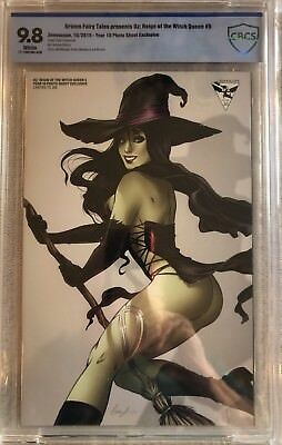 Oz: Reign of the Witch Queen #5 CBCS 9.8 NM/M  Photo Shoot LE Grimm Fairy Tales
