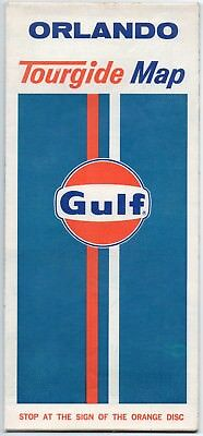 1973 Gulf Orlando Road Map Florida
