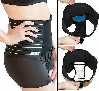 Mama Strut Postpartum Support Pelvic Binder System with Ice Heat Therapy Size XL