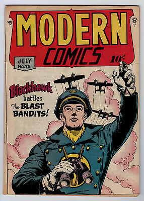 Modern Comics #75 3.0 1948 Cream/off-White Pages