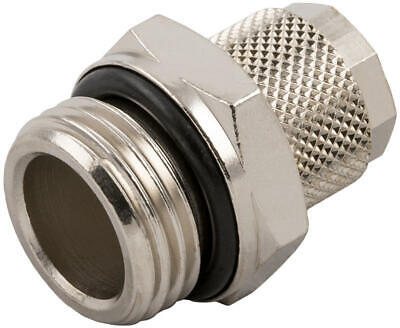 """Screw Type Male Fitting 1/8th Npt -1/4"""" Water Methanol Meth Alcohol Injection"""