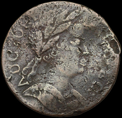 Connecticut Copper, 1785, African Head, Popular Red Book Type, Miller 4.1 or 4.2