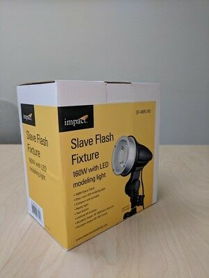 Impact Slave Flash Fixture 160 W with Led Modeling Light Sf-ABRL160