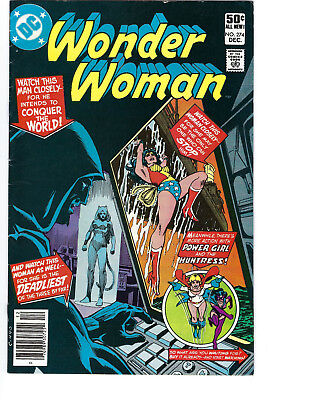 WONDER WOMAN 1st SERIES #274  1ST NEW CHEETAH, HUNTRESS & POWER GIRL CBG 308