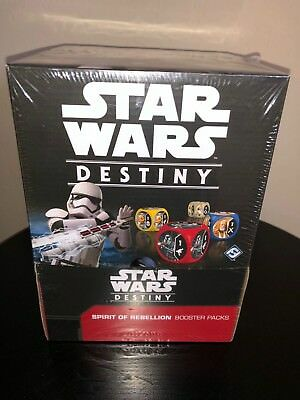 Star Wars Destiny: Spirit of Rebellion - Booster Display Box (36 PACKS) FREE S/H