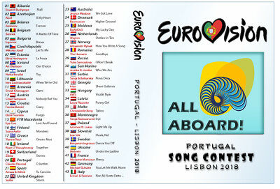 Eurovision Song Contest 2018 DVD & CD