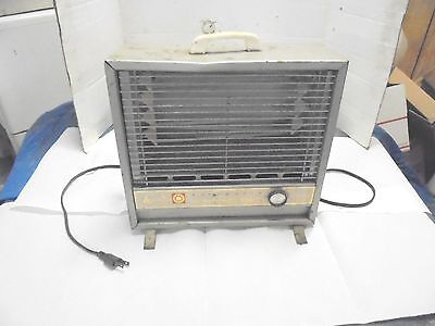 vintage arvin electric heater automatic instant heat metal frame