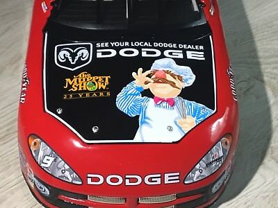 XRARE 1/24 Bill Elliott #9 Dodge SWEDISH CHEF The Muppets Show Die-Cast NASCAR