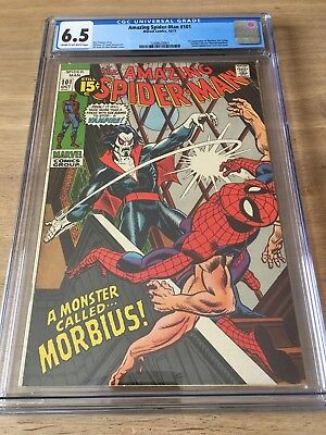 The Amazing Spider-Man 101 - CGC 6.5 - 1st Appearance of Morbius