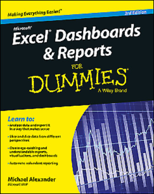 Excel Dashboards and Reports for Dummies 2015  Read on PC/Phone/Tablet