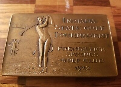 ANTIQUE VTG 1922 Pluto Water Devil. Ind State Golf Tournament French Lick Spings