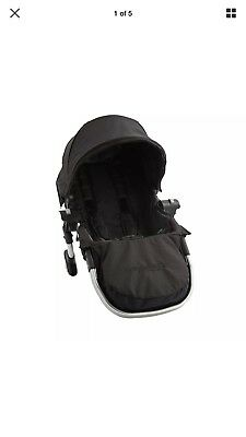 Baby Jogger City Select Second Seat Kit with Silver Frame, Onyx New