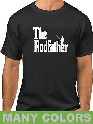 8fb0c734 The Rodfather Shirt Funny Fishing T-Shirt Gift Dad Daddy Fathers Day Fish  Tee