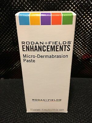 RODAN + AND FIELDS Micro-Dermabrasion Paste BRAND NEW & SEALED (10 Packets)