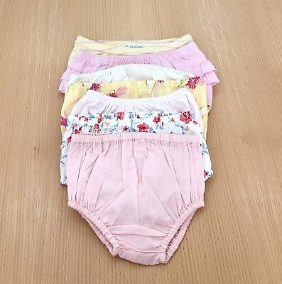 7x Janie and Jack & Ralph Lauren Girl Bloomers   Random Sizes from 0 to 18M