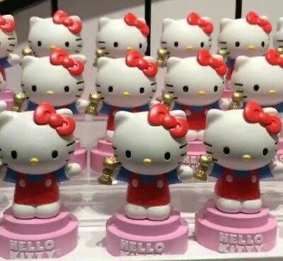 "1 Hello Kitty  Universal Studios ""Oscar"" Statue  With 1 Tatto & 1 Paper Crown"