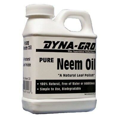 Neem Oil Certified Organic Insecticide Fungicide Miticide - Omri Approved