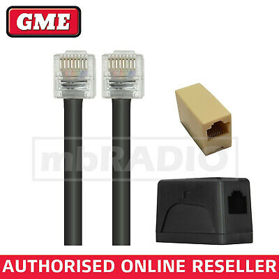 Gme Le040 1.8M Mic Extension Cable To Suit Tx3420/tx3520 + Ad008 Adaptor [B]