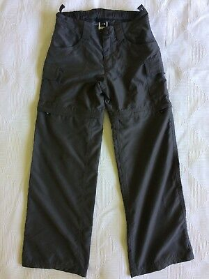 The North Face Girls Zip off Hiking Pants. Size 10 (M)