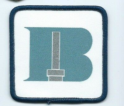 B with axle? advertising patch 3 X 3 #888